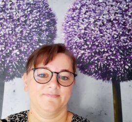Gastgeberin Barbara Steffen